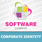 Software Corporate Identity Template 26931