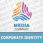Media Corporate Identity Template 26932