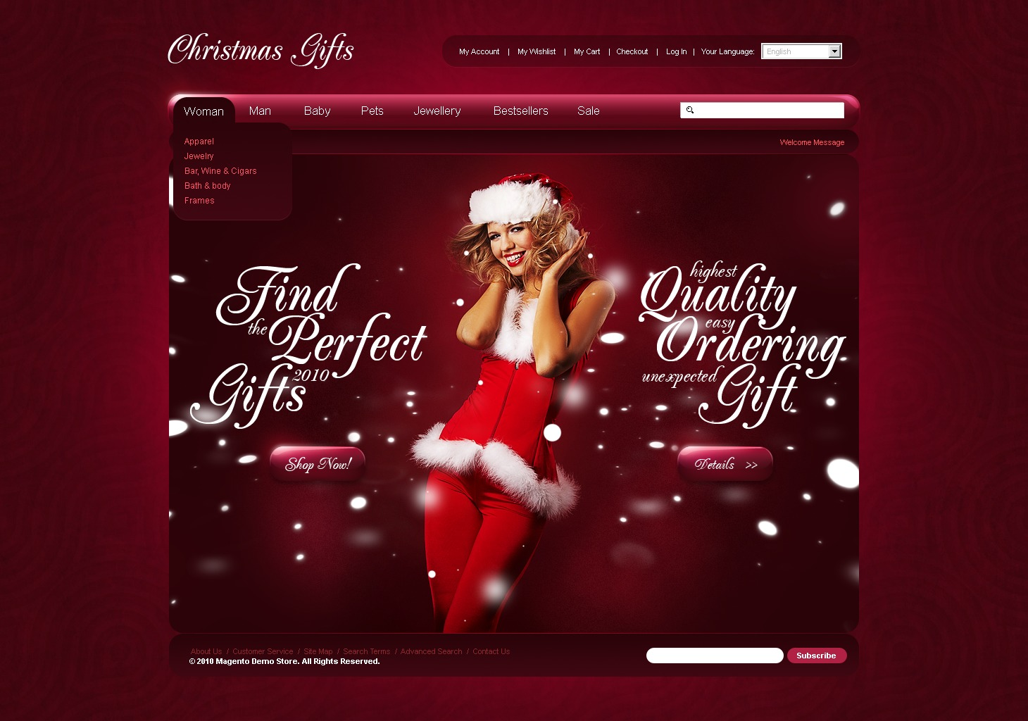 Shop Online For Christmas Gifts