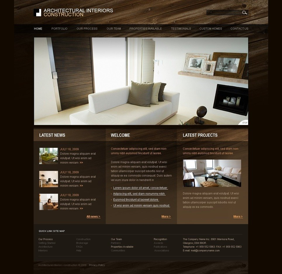 Site De Design Interieur Of Mod Le Web 27063 Pour Site De Design Int Rieur