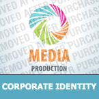 Media Corporate Identity Template 27068