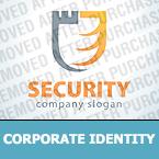 Security Corporate Identity Template 27110