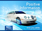Cars PowerPoint  Template 27178