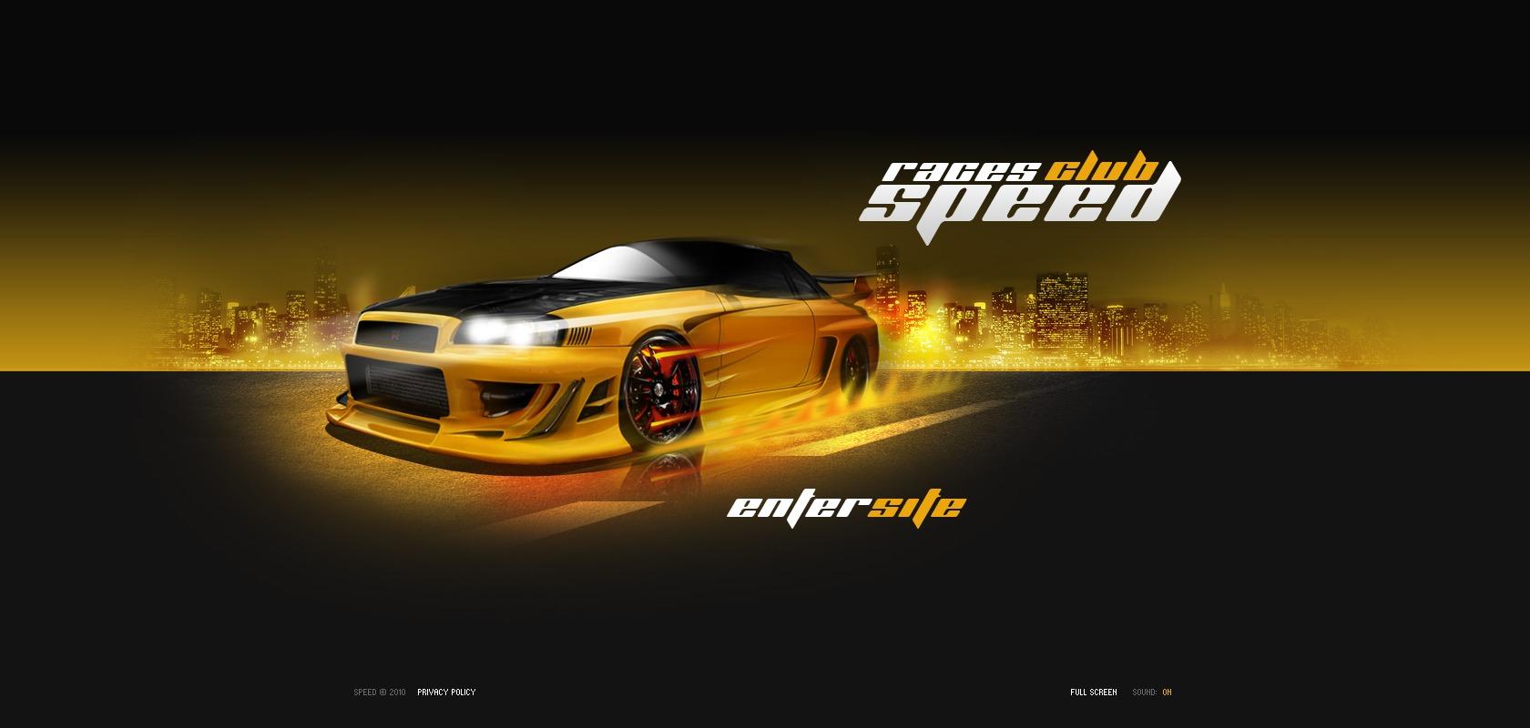 Racing Website Templates By Daniel C Adams