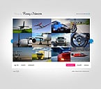 Art & Photography Flash CMS  Template 27204