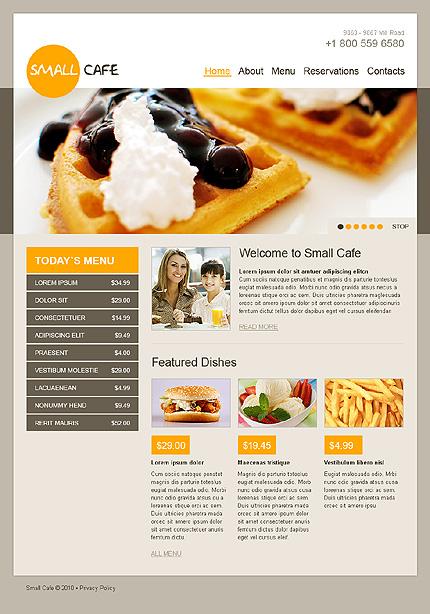 Realizare site cofetarie