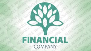 Financial Advisor Logo Template vlogo