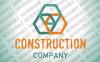 Logo Vorlage für Baufirma  vlogo