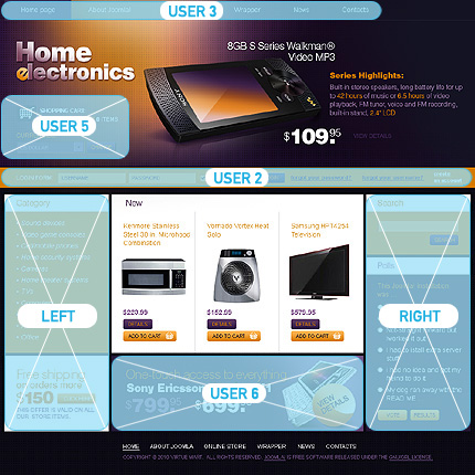 ADOBE Photoshop Template 27330 Home Page Screenshot