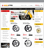 VirtueMart: Cars Online Store/Shop Most Popular VirtueMart Templates