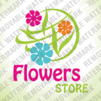 Flowers Logo  Template 27491