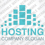 Web Hosting Logo  Template 27585
