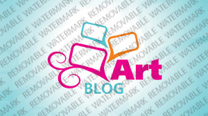 Art Web Logo Template vlogo