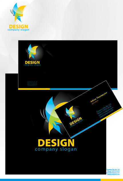 design studio corporate identity template 27574
