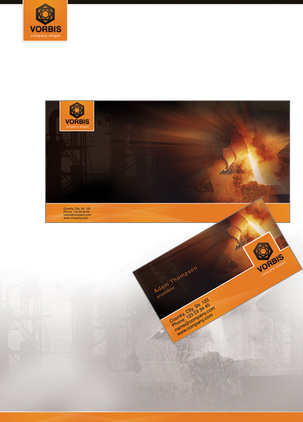 Industrial Corporate Identity Template Corporate Identity preview