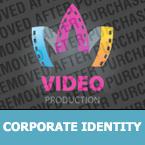Media Corporate Identity Template 27752