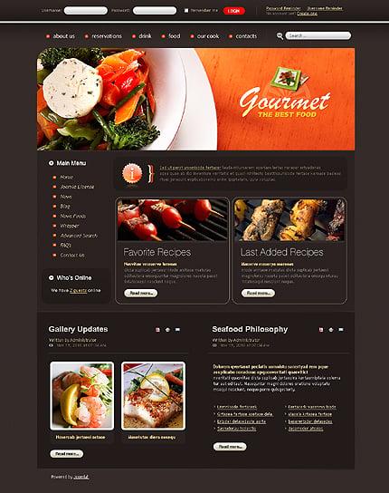 Realizare site online restaurant