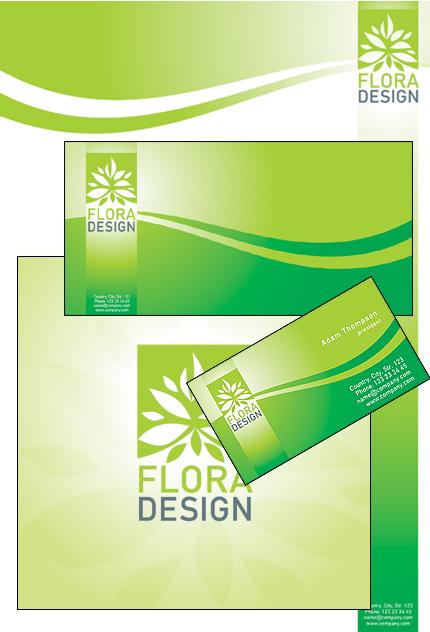 Exterior design corporate identity template 27755 for Exterior design templates