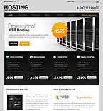 Web Hosting PSD  Template 27831
