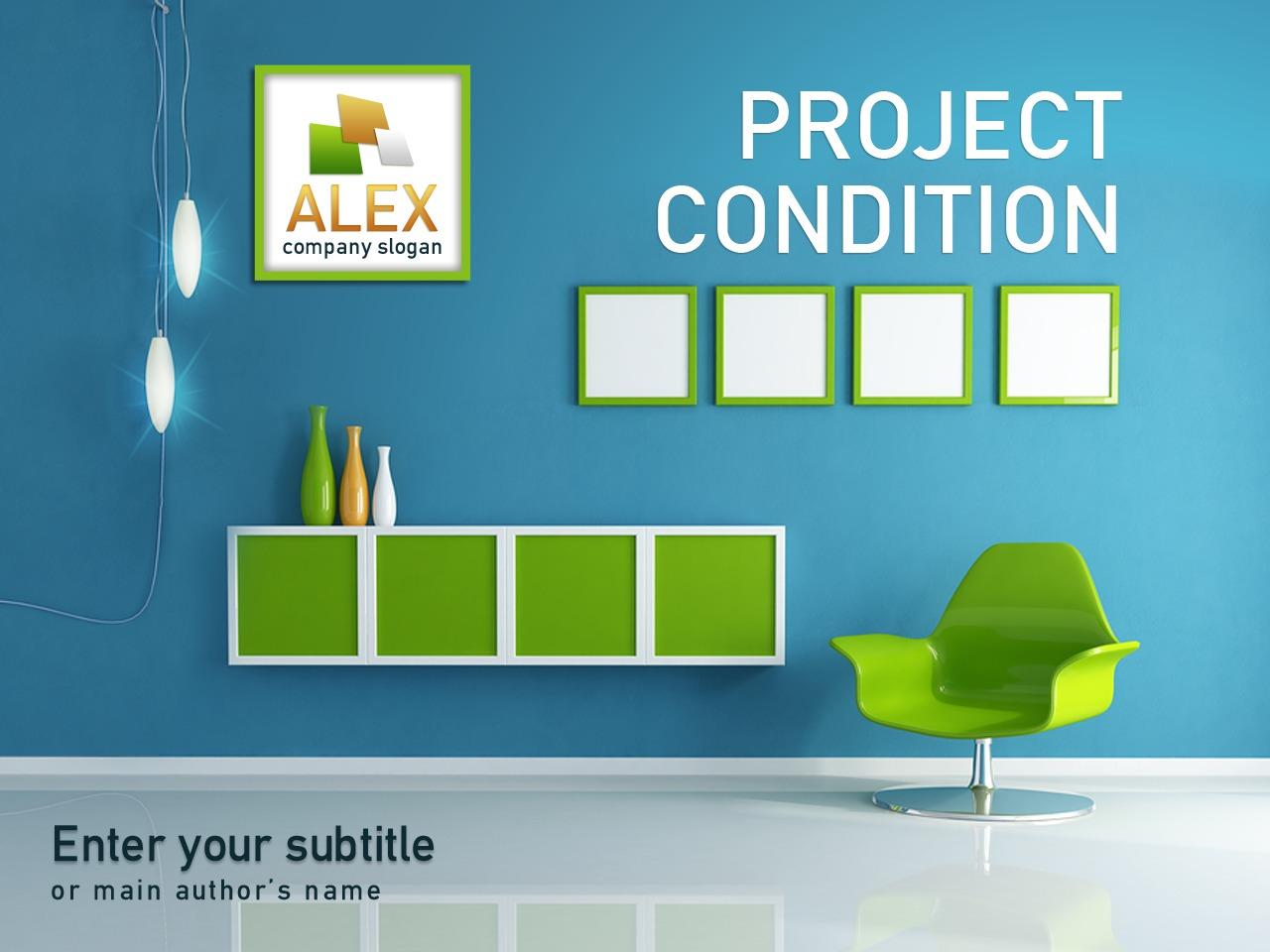 Plantilla Powerpoint 27895 Para Sitio De Dise O Interior # Los Muebles Powerpoint