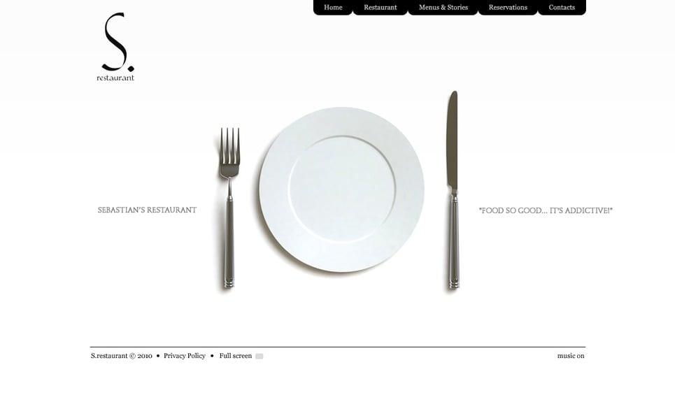 Flash CMS шаблоны №27918 на тему  кафе и рестораны New Screenshots BIG