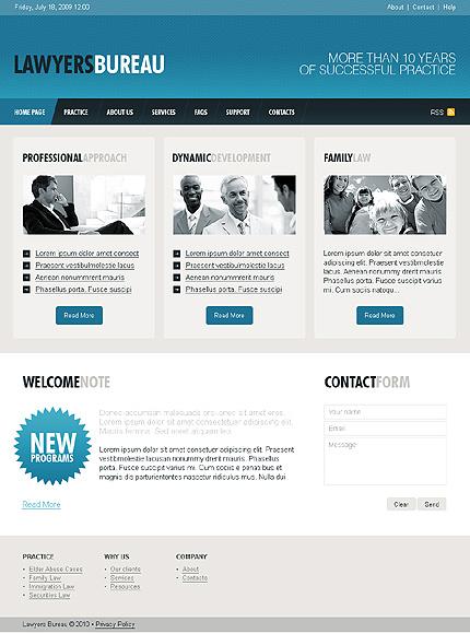 PSD макет сайта №28065