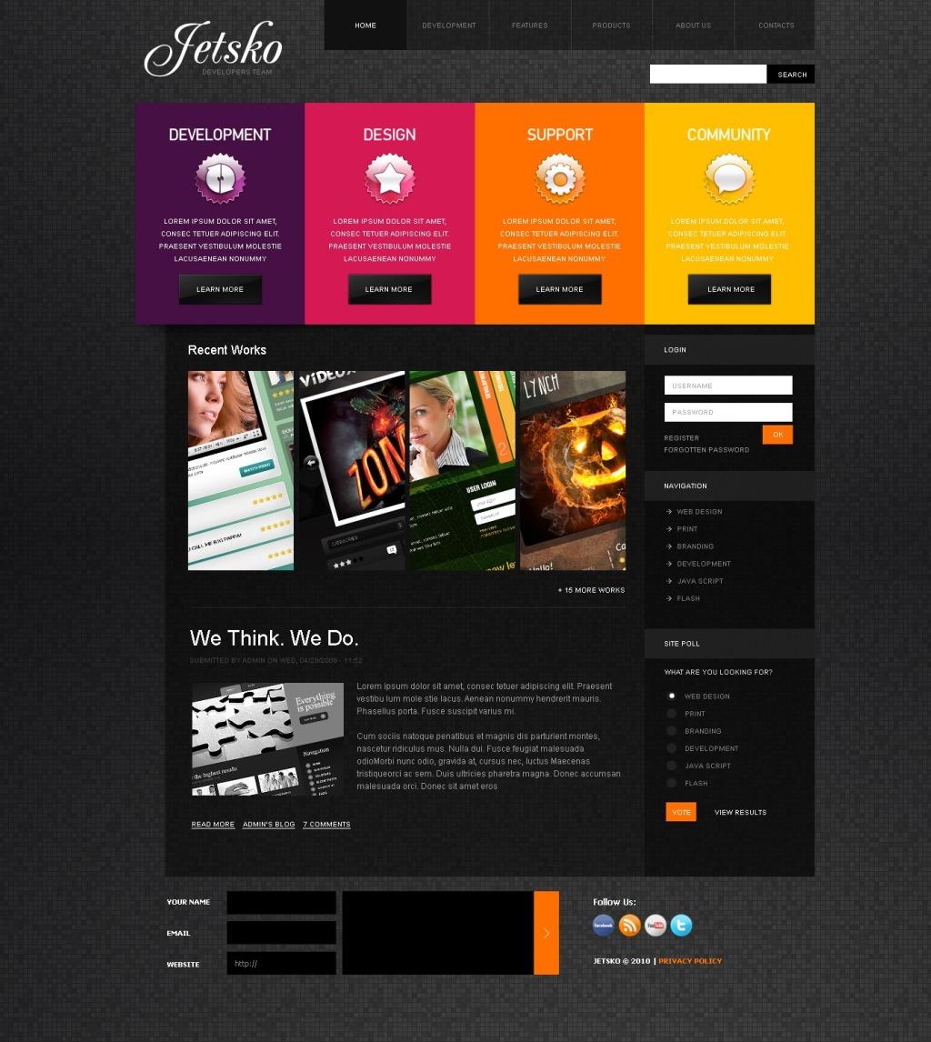 Стили дизайна при создании сайтов создание бесплатного сайта русский