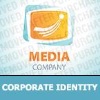 Media Corporate Identity Template 28123