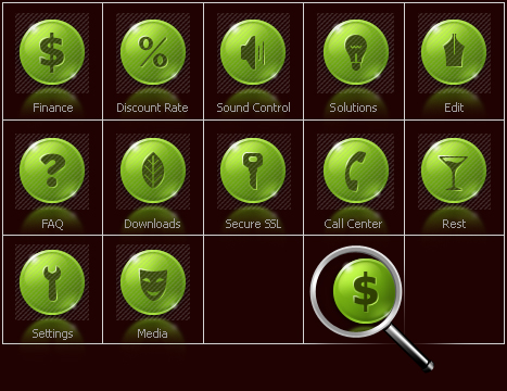 Icon Set Template 28135 Screenshots