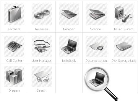Icon Set Template 28142 Screenshots
