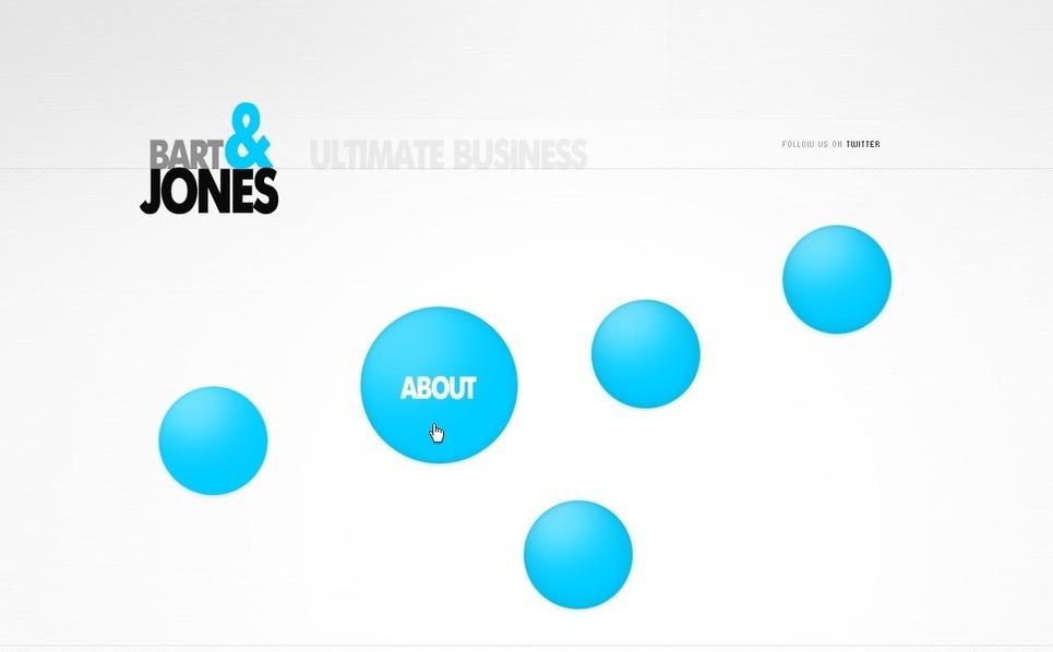 Szablon Flash CMS #28146 na temat: biznes i usługi New Screenshots BIG