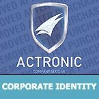 Security Corporate Identity Template 28160