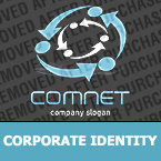 Communications Corporate Identity Template 28164