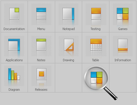 Icon Set Template 28170 Screenshots