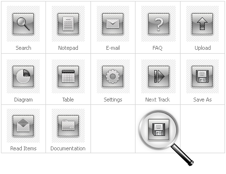 Icon Set Template 28180 Screenshots
