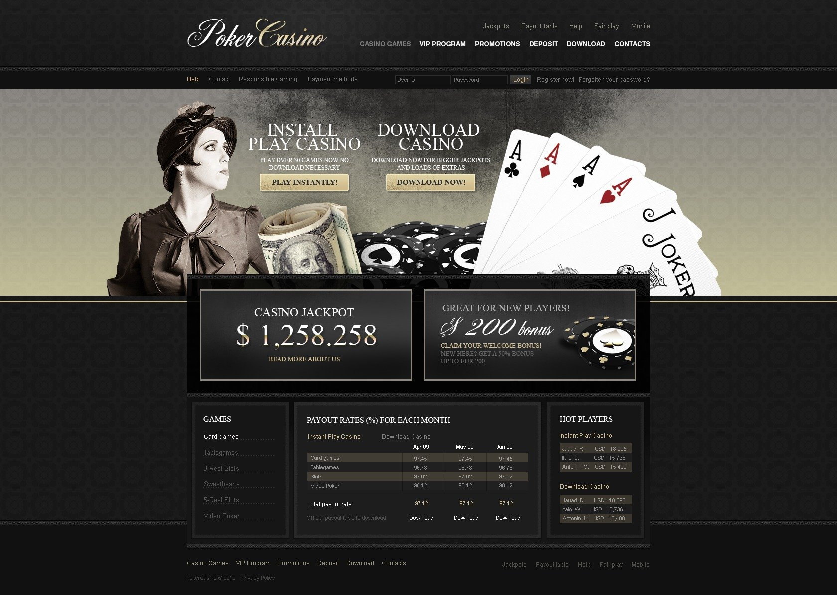 Archive blog casino comment game html online siena hotel & casino