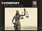 Law PowerPoint  Template 28325