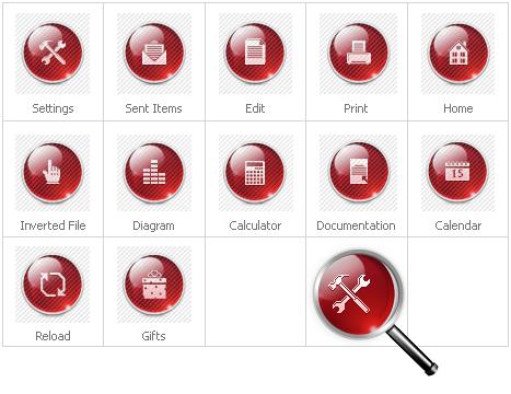 Icon Set Template 28358 Screenshots