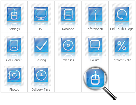 Icon Set Template 28402 Screenshots