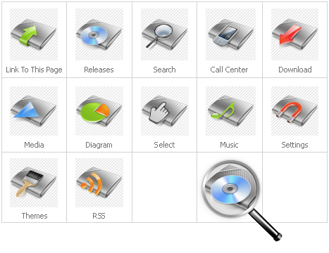 Icon Set Template 28405 Screenshots