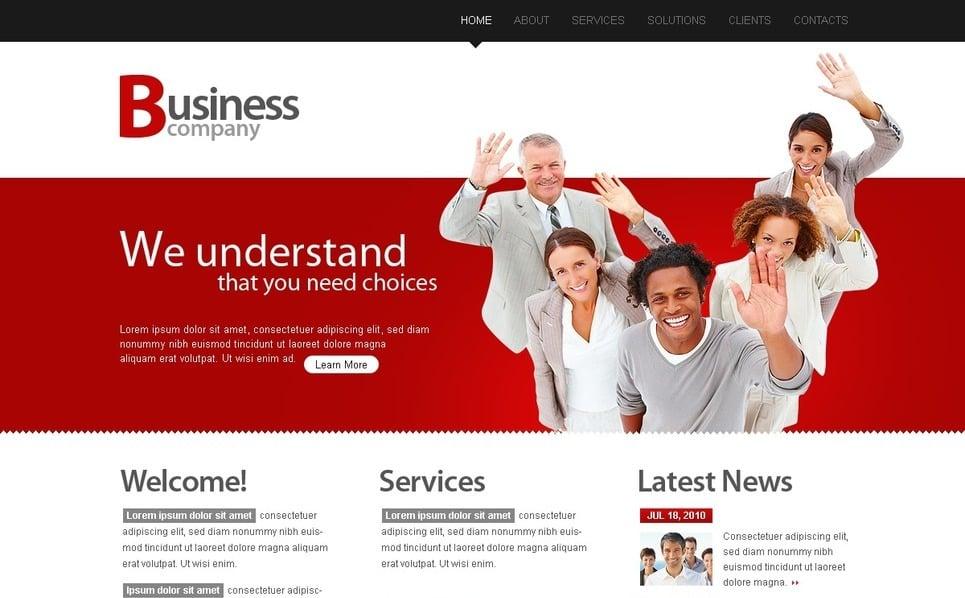 Template PSD  #28483 per Un Sito di Business e Servizi New Screenshots BIG