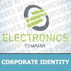 Electronics Corporate Identity Template 28552