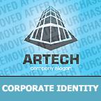 Architecture Corporate Identity Template 28556
