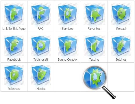 Icon Set Template 28570 Screenshots