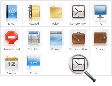 Icon Set Template 28573 Screenshots