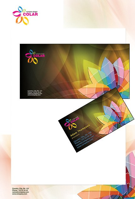 Art Web Corporate Identity Template Corporate Identity preview
