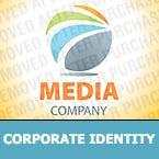 Media Corporate Identity Template 28643