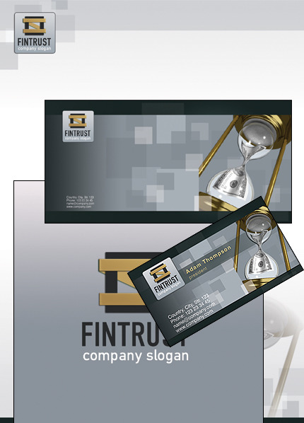 Financial Advisor Corporate Identity Template Corporate Identity preview