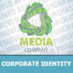 Media Corporate Identity Template 28770