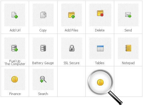 Icon Set Template 28784 Screenshots